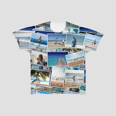 personalised collage tshirt