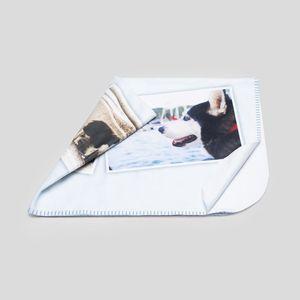 单层定制照片毛毯