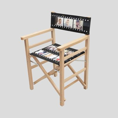 silla de director de cine personalizada