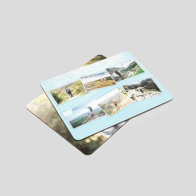 bordstabletter med fotokollage
