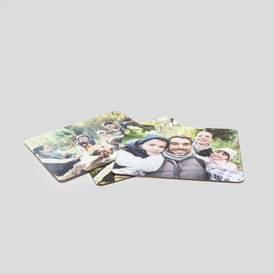 manteles de madera para navidad con fotos