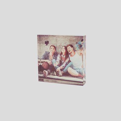 personalised instagram acrylic photo blocks