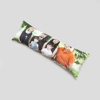 cuscino lungo personalizzato con foto