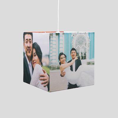 gepersonaliseerde vierkante lampenkap