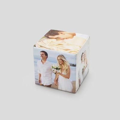 cubo de fotos regalos personalizados de san valentin novios