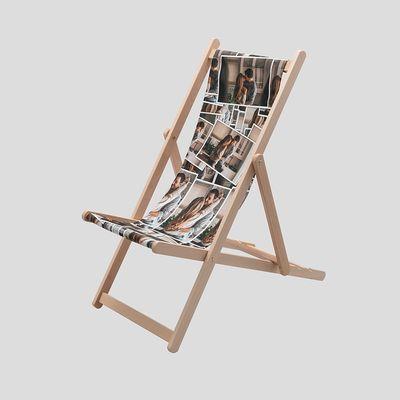 liegestuhl bedrucken lassen geschenkidee für opa