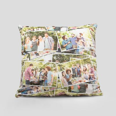 Cuscino personalizzato foto famiglia