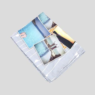 sábana personalizada con fotos