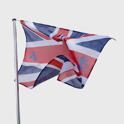 bedruckte flaggen zum abschluss