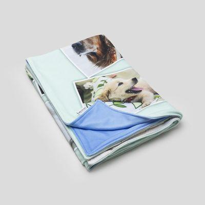 custom softball blankets