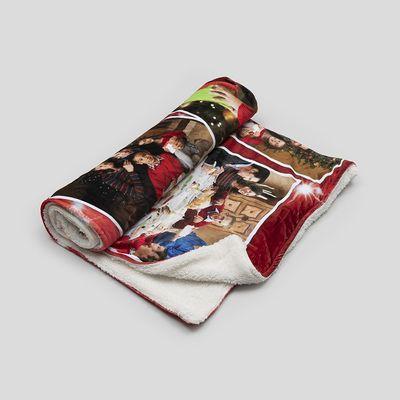 manta personalizada para sofa san valentin
