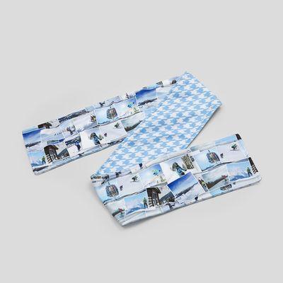 Fleece Schal mit Fotodruck
