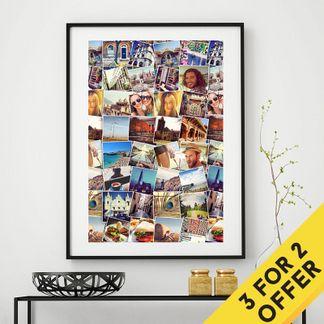 Premium poster prints 3 för 2
