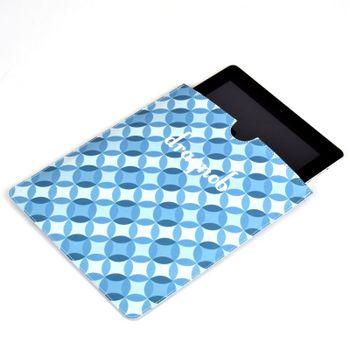 custom leather ipad case