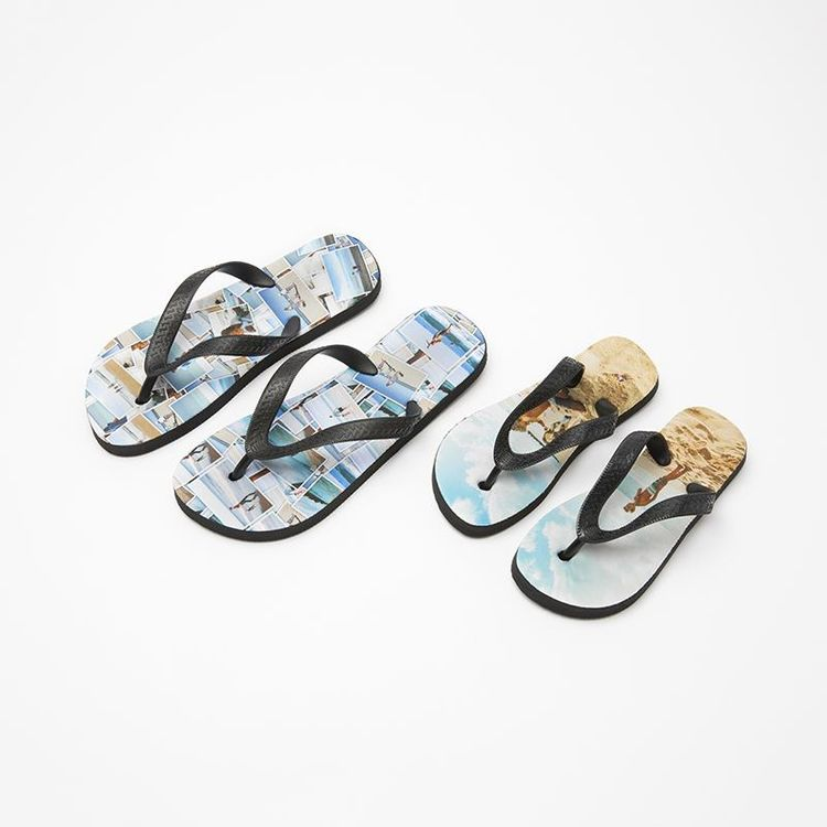 Personalised Flip Flops range of sizes