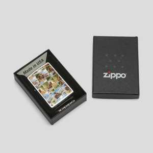 personalised zippo