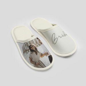 -personalised wedding slippers
