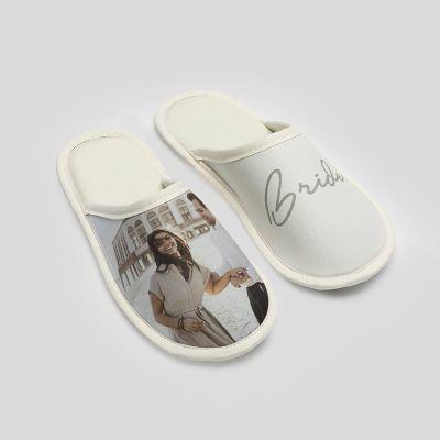 pantuflas zapatillas de casa personalizadas para novias boda