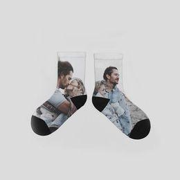 プリント靴下