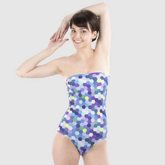 maillot de bain bustier personnalisé
