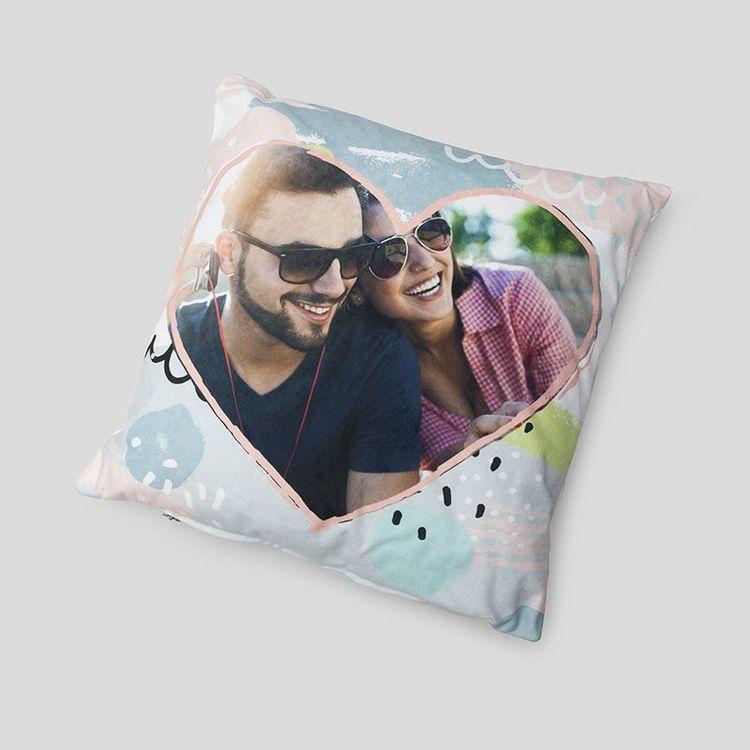 personalised valentines cushion