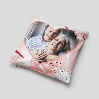 personalised valentine's cushion