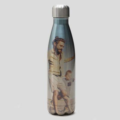 botella metalica reutilizable acero personalizada