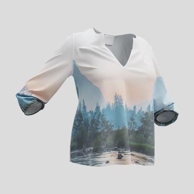 blusa personalizada fotos online mujer