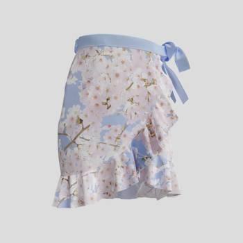 falda con volantes personalizada