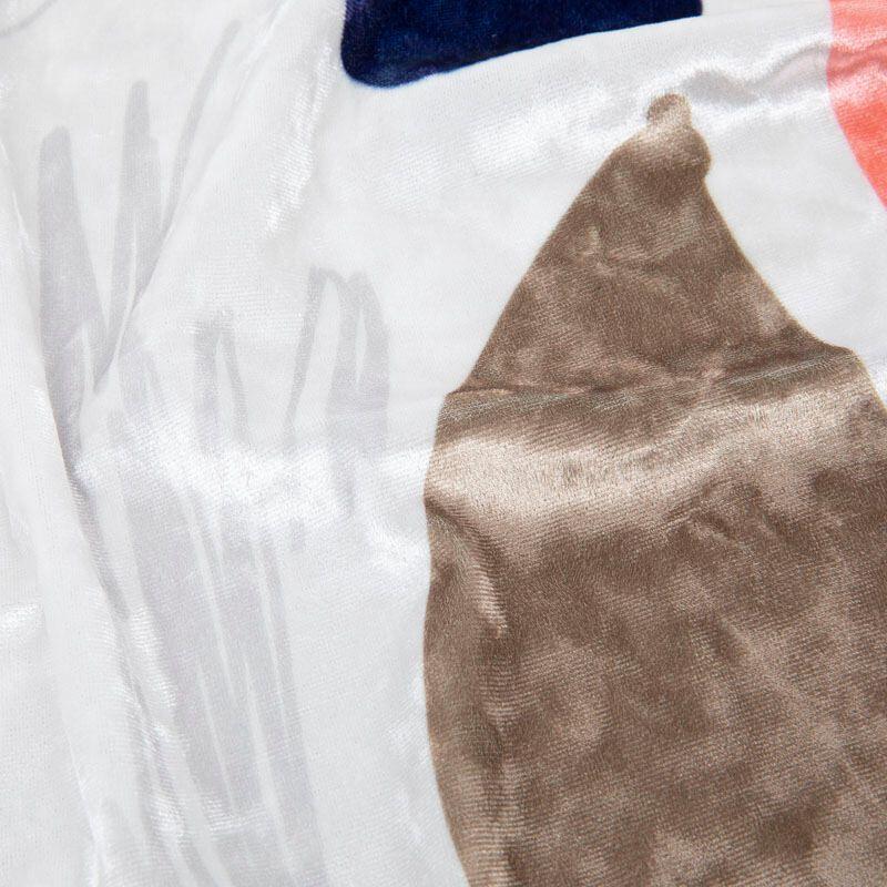 T Shirt Stoff Velours Detail