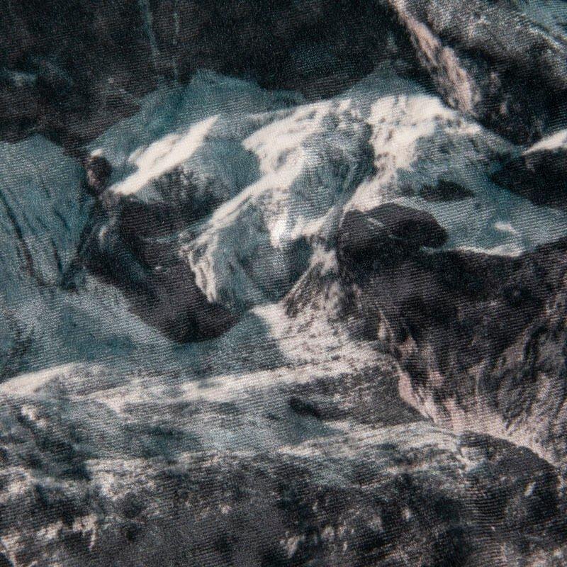dettagli tessuto Velour Fluido