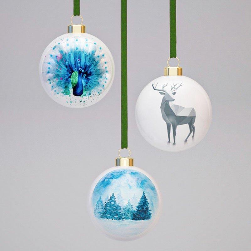 custom christmas baubles new zealand