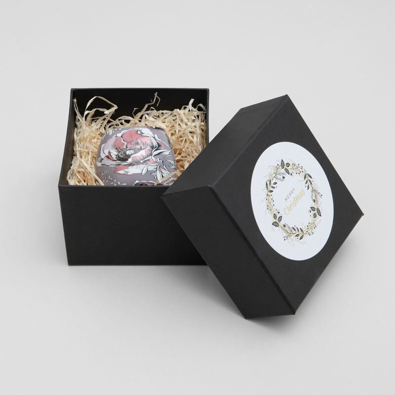Teelichthalter Geschenkbox