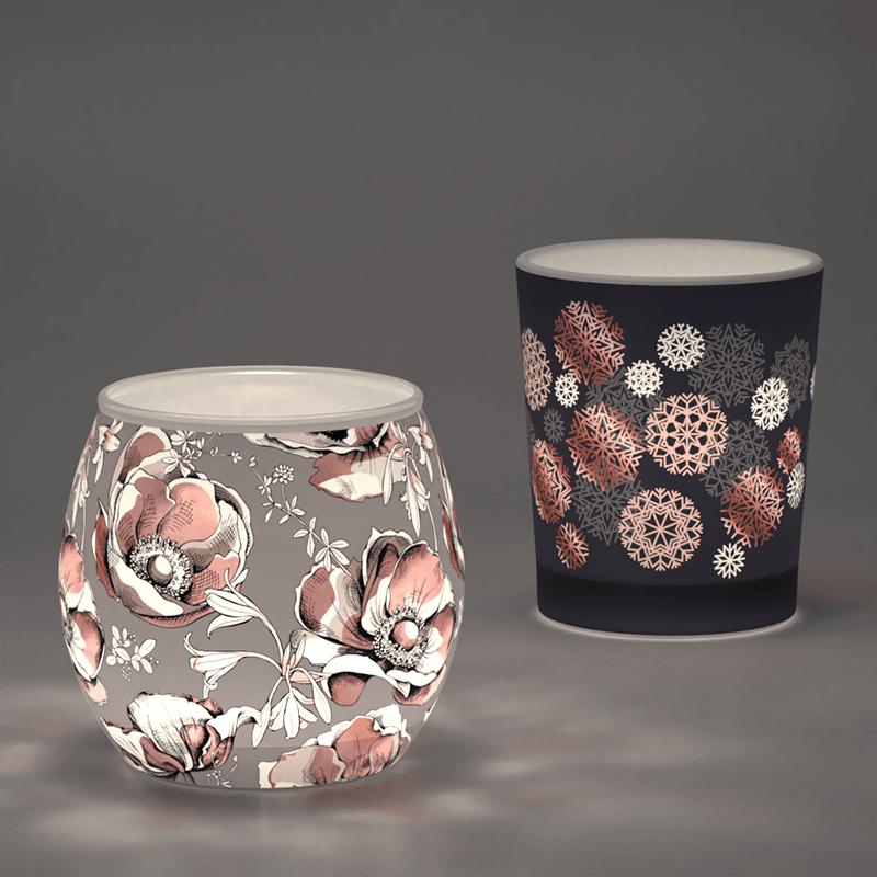 custom printed tea light holders