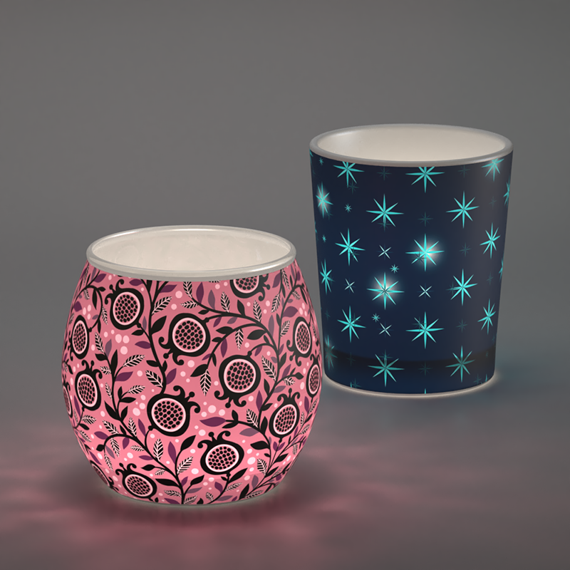 Teelichthalter selber machen