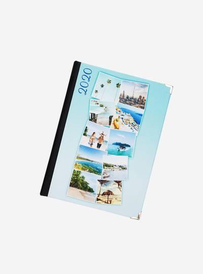 agenda 2020 personalizada con fotos collage