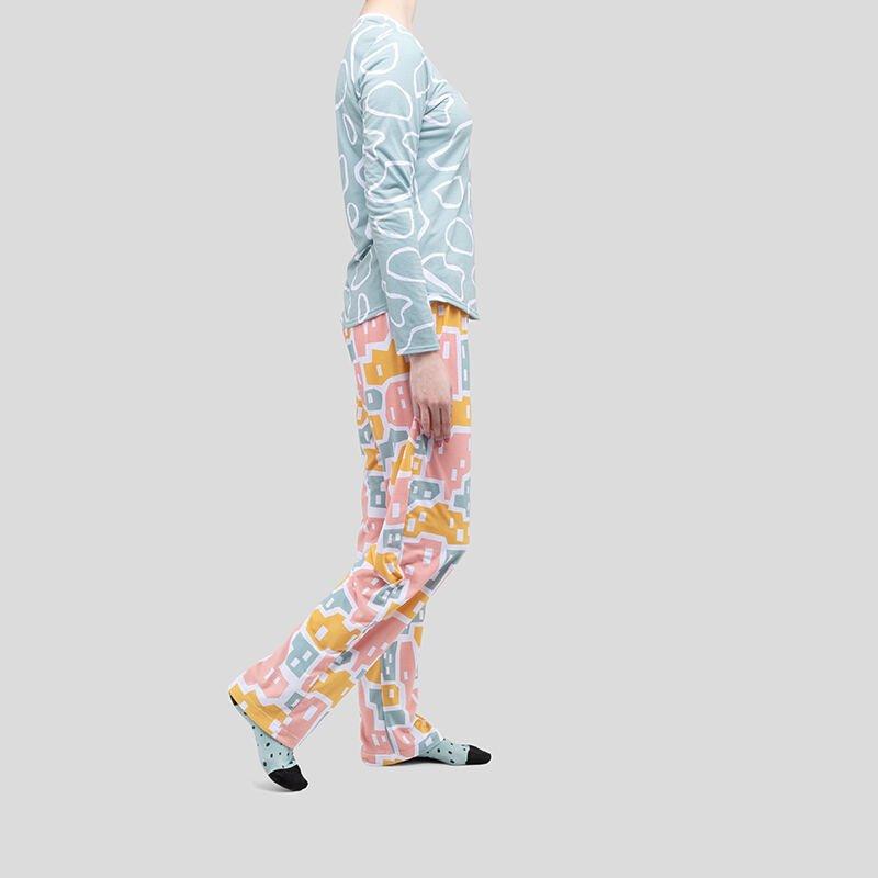 conjunto pijama personalizado mujer diseño