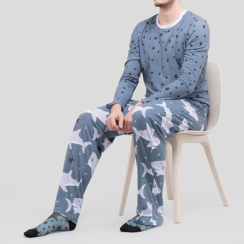 Schlafanzug bedrucken für Herren
