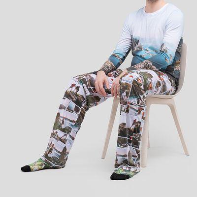 conjunto pijama para parejas personalizado