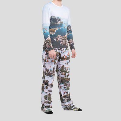 conjunto de pijama personalizado hombre