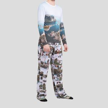 personalized pajama set