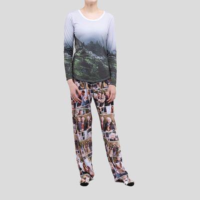 conjunto pijama personalizado mujer san valentin