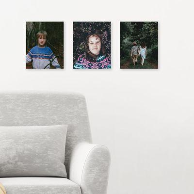 Mini-canvastavlor med eget foto