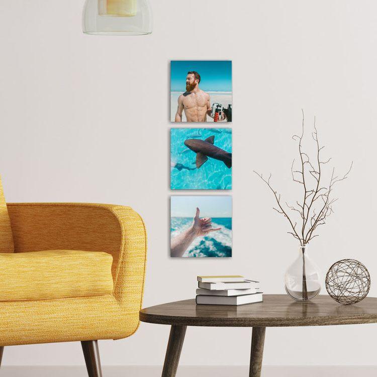 vierkante canvas prints