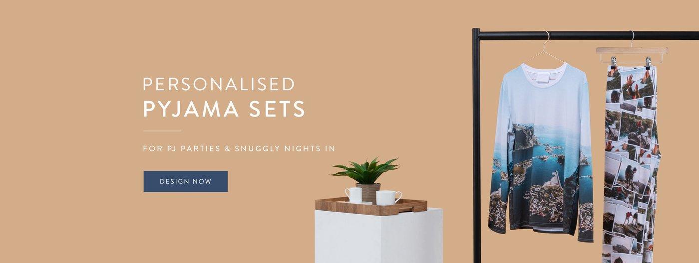 Personalised Pyjama Sets