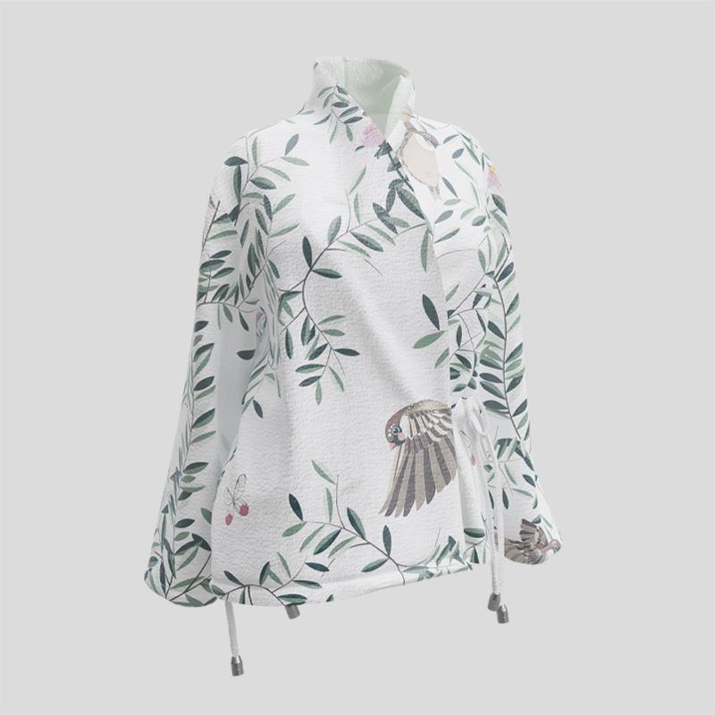 stampa su giacca a portafoglio