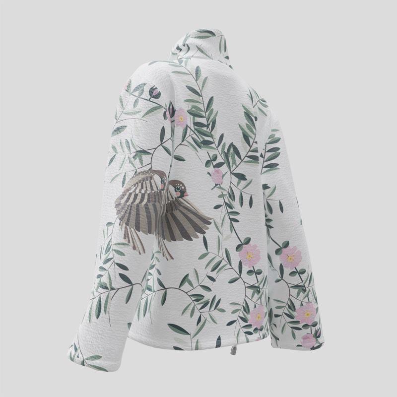 custom wrap blazer printing
