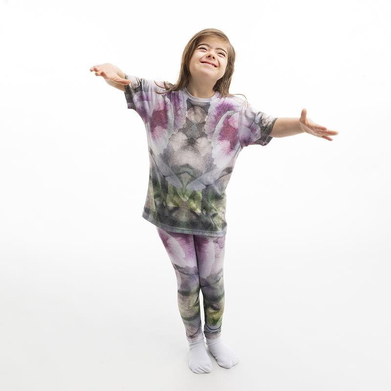 Legging pour fille avec design imprimé