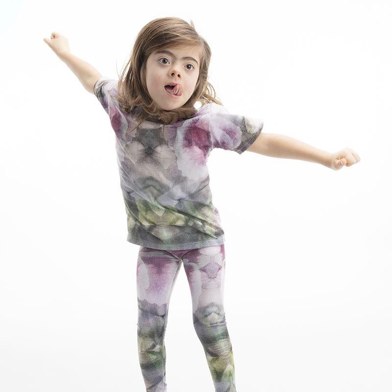 Impression sur legging pour fille