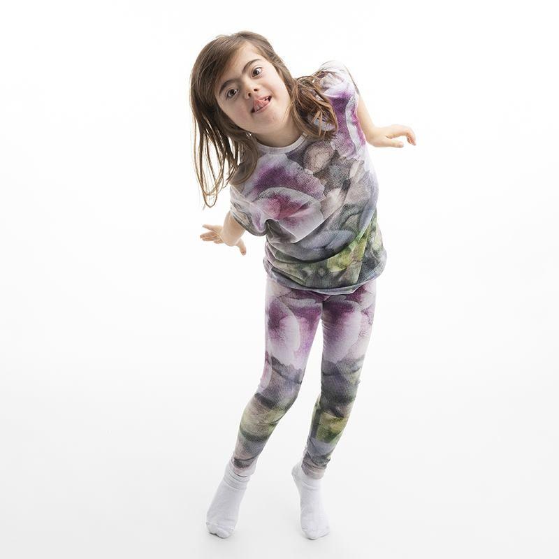 Legging pour fille avec votre propre design
